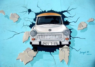 """Trabant"", by Birgit Kinders"