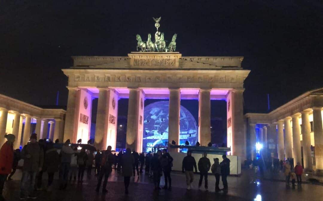 Fall of the wall concert at Brandenburg gate