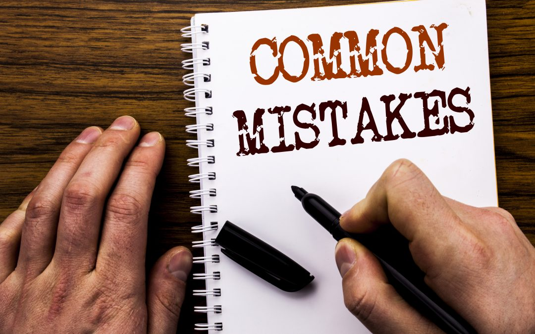 Mistakes when learning a language