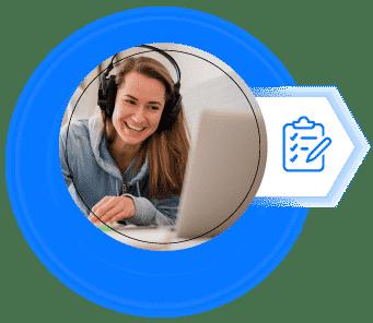 blended online german course